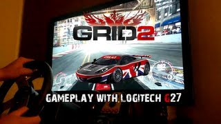 Grid 2 Gameplay w/ Logitech G27 | PC | PS3 | XBOX | HD