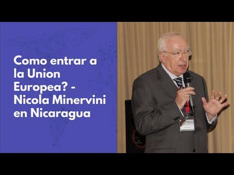 Como entrar a la Union Europea: Nicola Minervini en Nicaragua