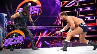 Mustafa Ali vs. Drew Gulak - Gauntlet Match: WWE 205 Live, April 24, 2018