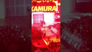 Shinsuke Nakamura Smackdown debut Live