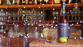 How to make a Brandy Lime and Soda - St Agnes Brandy Cocktail Recipes