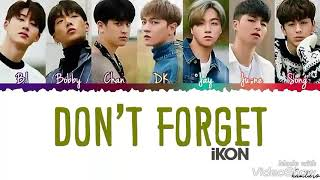 Chanwoo whistling in Don't Forget iKON