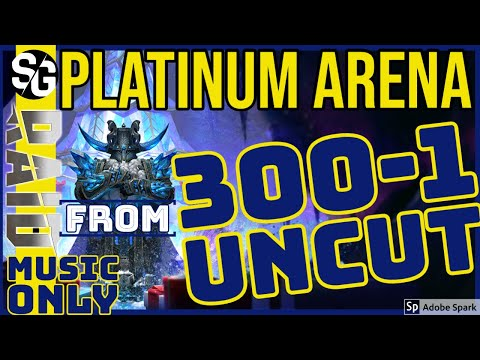RAID SHADOW LEGENDS | PLATINUM 300TH TO 1ST ARENA BATTLES BEFORE RESET | MUSIC ONLY | UNCUT