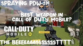 STILL ROCKING THIS PDW-57 BEAST MODE CALL OF DUTY MOBILE
