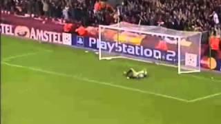 Steven Gerrards Goal. Best Andy Gray commentary ever