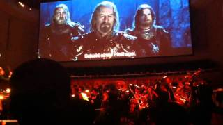 Lord of The Rings - The Two Towers live @ KKL Luzern HD