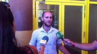 Primeras declaraciones de Carlos Cano al salir de la prisión de Albolote