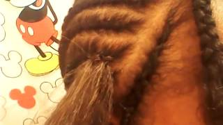 For Beginners: How To Crochet Braid (Kanekalon Hair)