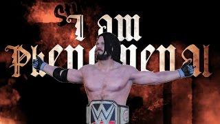 WWE 2K17: AJ Styles Custom Titantron! (w/ Custom Theme)