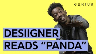 """Panda"": Desiigner Reads All The Lyrics"