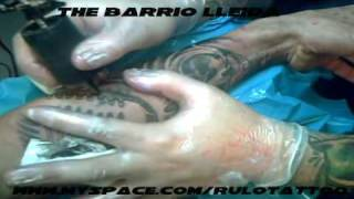 THE BARRIO TATTOO LLEIDA B27 www.myspace.com/rulotattoo