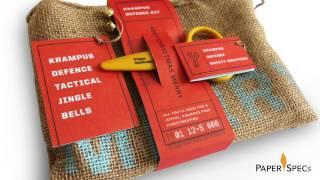 Paper Inspiration #205: Krampus Defence Kit
