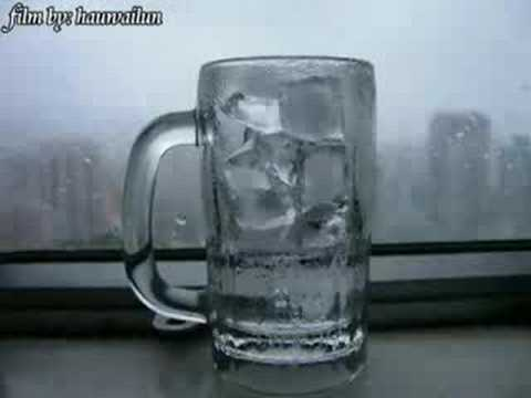 冰塊溶化過程 - YouTube
