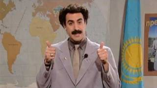 Graham Norton Speaks to Borat - Classic Comic Relief