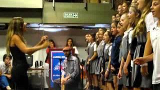 Whatever - Oasis - Coro 5º y 6º Grado - Academia Argüello - Entrega Certificados DELF