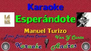 Esperándote - MTZ Manuel Turizo | Karaoke |