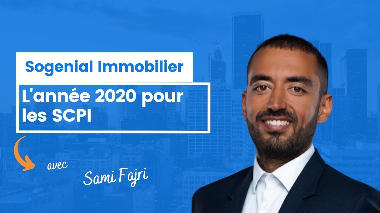 L'année 2020 pour les SCPI de Sogenial Immobilier