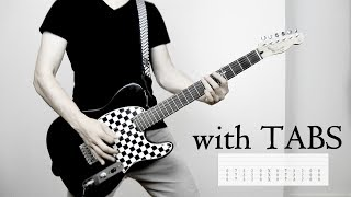Thousand Foot Krutch - War of Change Guitar Cover w/Tabs on screen