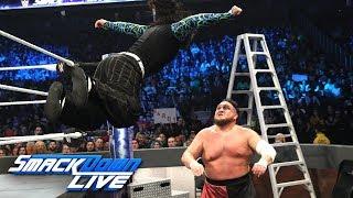 Jeff Hardy & Rusev vs. Shinsuke Nakamura & Samoa Joe: SmackDown LIVE, Dec. 11, 2018