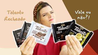 CHOCOLATES RECHEADOS DA TALENTO ?? Estranho ou não? | EXPERIMENTANDO | TPM por Ju Ferraz