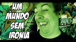 """# """"ENFIAR COISAS NO RABO"""" - Um Mundo Sem Ironia"""