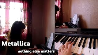 Metallica - nothing else matters (piano cover)