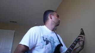 """Suffocation """"Liege of Inveracity"""" cover (partial)"""