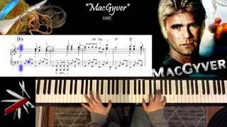 MacGyver - Piano Solo Cover