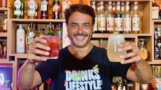 Drink com Gin e Drink com Jack - TEM DOSE DUPLA