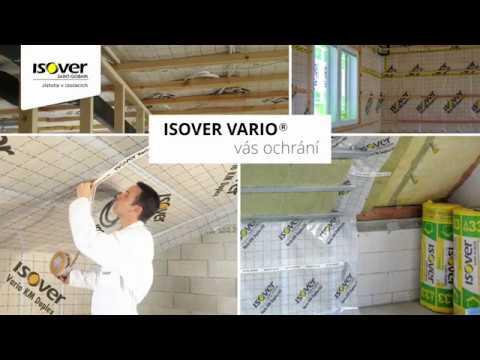 Instalace parobrzdy Isover Vario