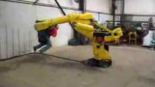 Robot ride :)