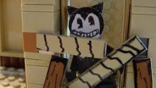 Lego Build Our Machine Song - Bendy and the Ink Machine Animation / Jam Brickfilms part