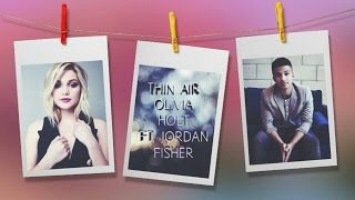 Olivia Holt - Thin Air (Lyrics)
