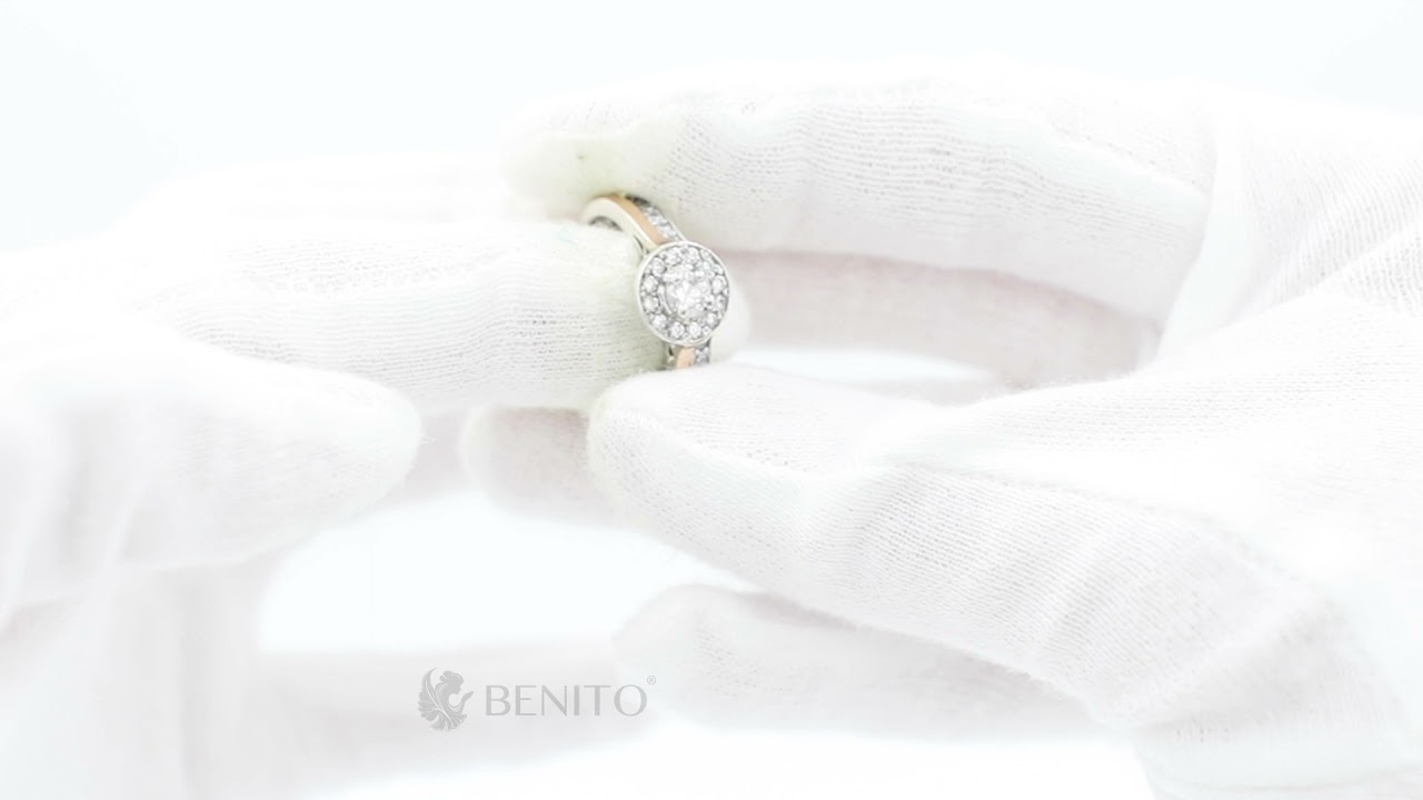 Antonietta Ring White Zircon Stones