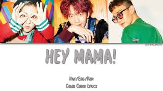 EXO-CBX (첸백시) - HEY MAMA! [Color Coded Han|Rom|Eng]