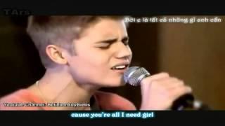 [Lyrics + Vietsub] BoyFriend - Justin Bieber (Acoustic Live)