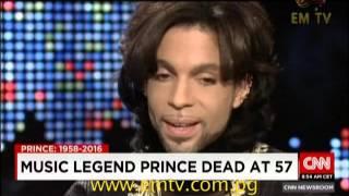 """Purple Rain"" Singer Prince Dead at 57"