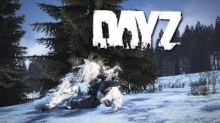 Winter Ghillie Sniper in DayZ...