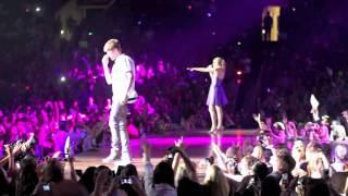 Taylor Swift & Justin Bieber Sing Baby Live