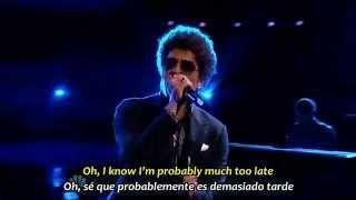 BRUNO MARS   WHEN I WAS YOUR MAN   Subtítulos Español & Inglés