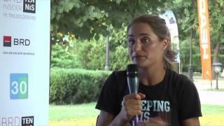 """Monica Niculescu: """"Să joc cu încredere și să plutesc pe teren, asta-mi place"""""""