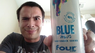four loko blue Mofo taste test and review
