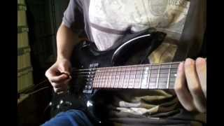 The Fall Guy by I Call Fives Guitar SOLO cover