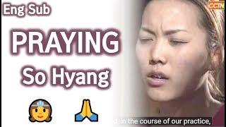 Praying SoHyang (age 23, 2001) / 기도하는 소향