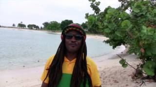 Rastaman wishing my friend  a happy birthday