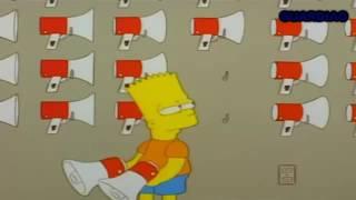Bart olha o gás