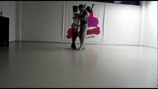 Promise by Romeo Santos ft Usher Bachata dance.avi