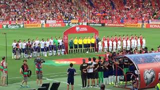 Armenia - Portugal 2-3 National Anthems Live HD