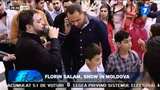 FLORIN SALAM  SHOW LA MOLDOVA MAI 2015 SD) , manele noi, salam 2015, manele live