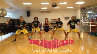 Turma do Pagode - Puxa Agarra e Beija ft. Aviões do Forró - Coreografia - Ritmos Fit